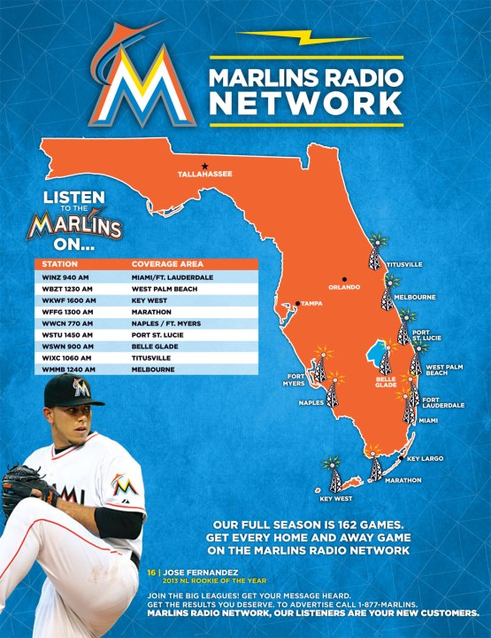 2014 Miami Marlins Radio Network